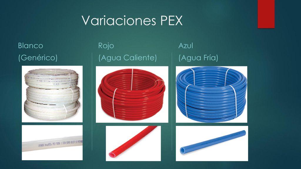 Polietileno reticulado pex ppt descargar - Tubo corrugado rojo ...