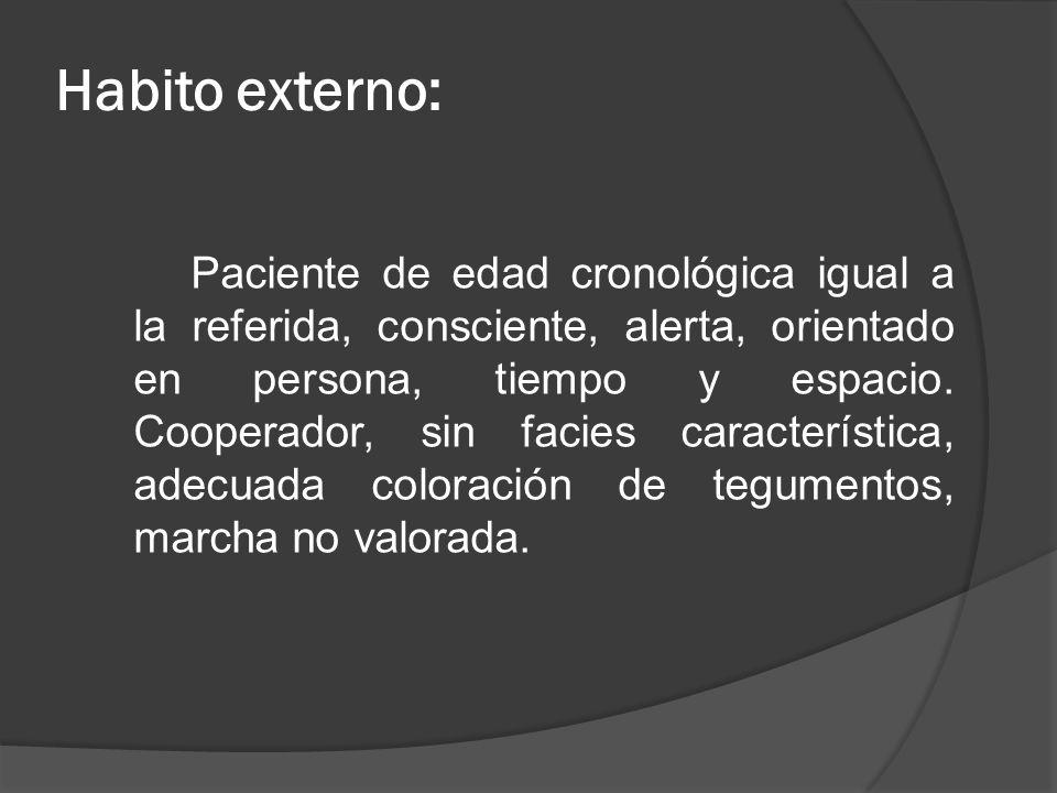 Habito externo:
