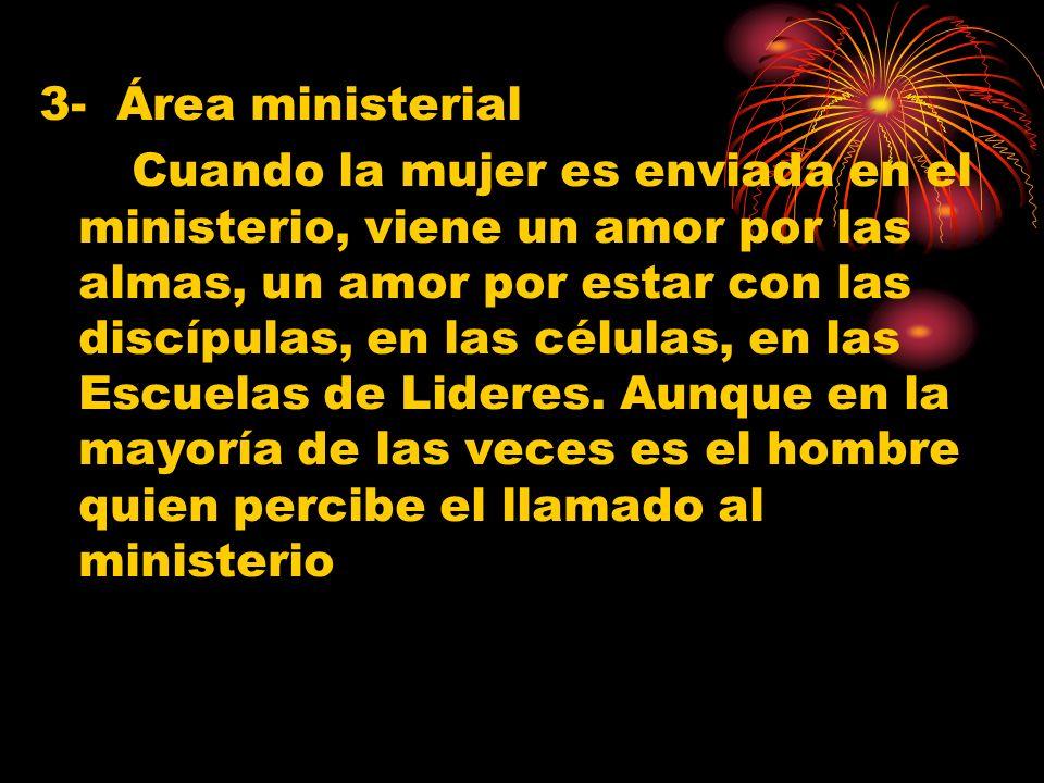 3- Área ministerial