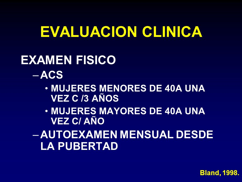 EVALUACION CLINICA EXAMEN FISICO ACS