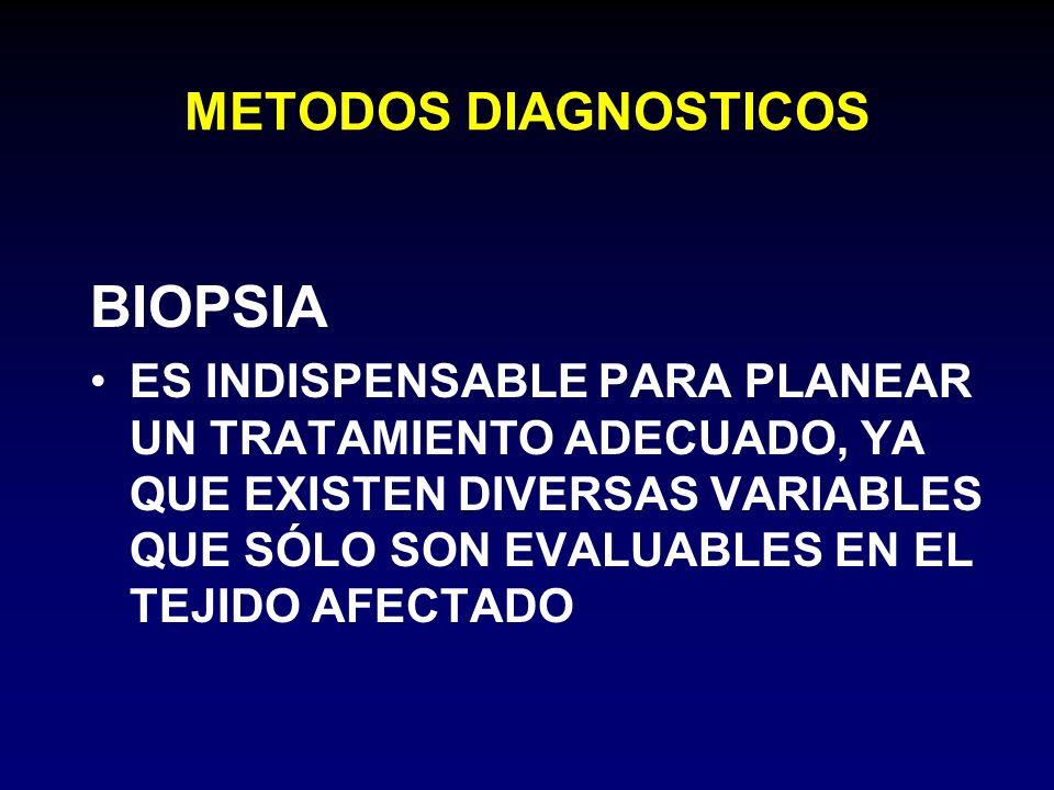 BIOPSIA METODOS DIAGNOSTICOS