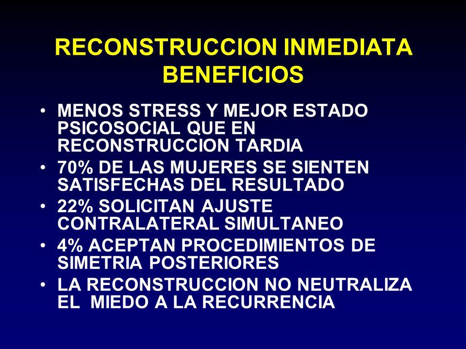 RECONSTRUCCION INMEDIATA BENEFICIOS