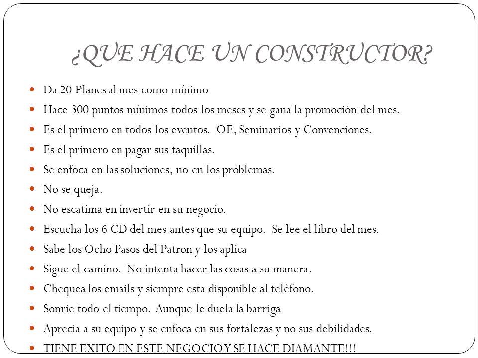 ¿QUE HACE UN CONSTRUCTOR