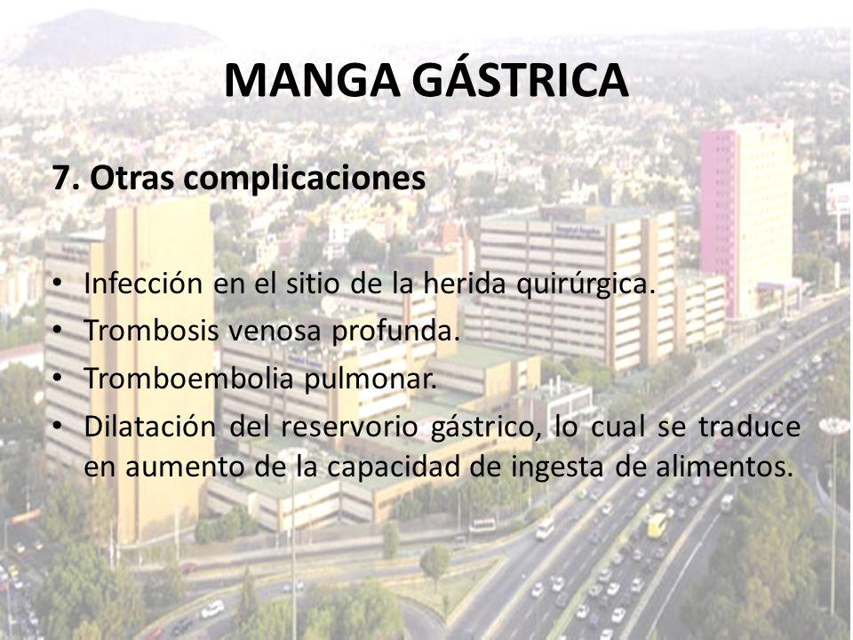 MANGA GÁSTRICA 7. Otras complicaciones
