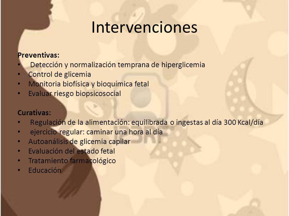 Intervenciones Preventivas: