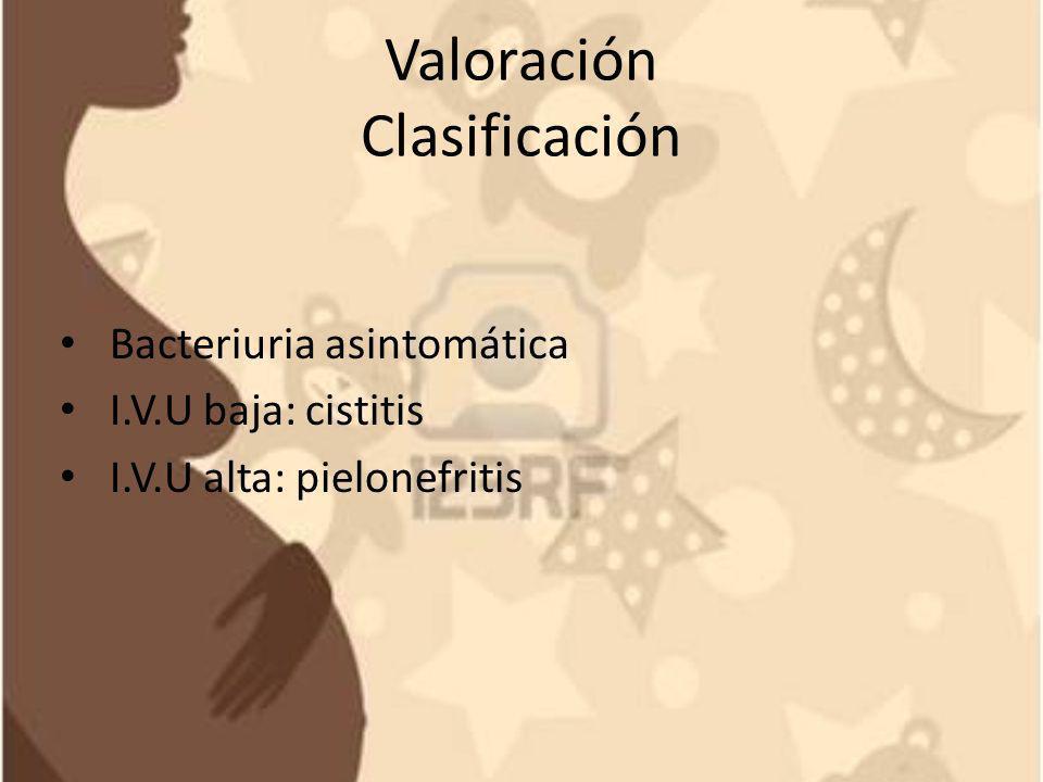 Valoración Clasificación