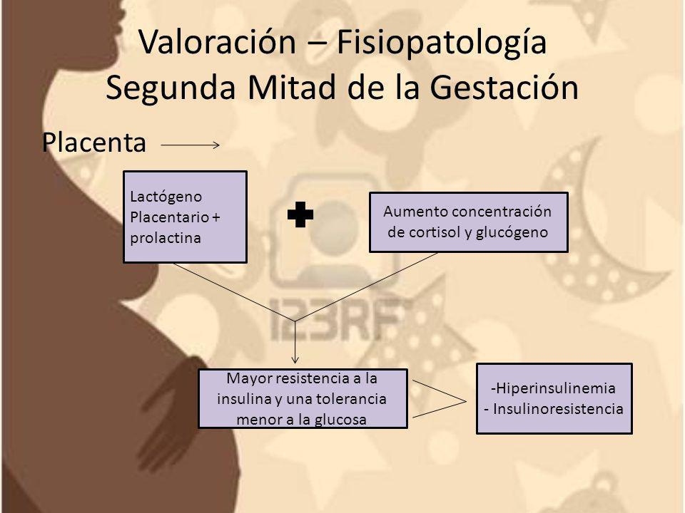 Valoración – Fisiopatología Segunda Mitad de la Gestación