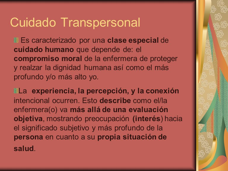 Cuidado Transpersonal