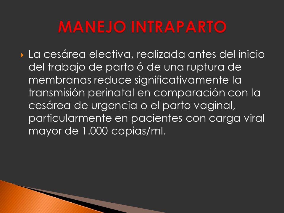 MANEJO INTRAPARTO