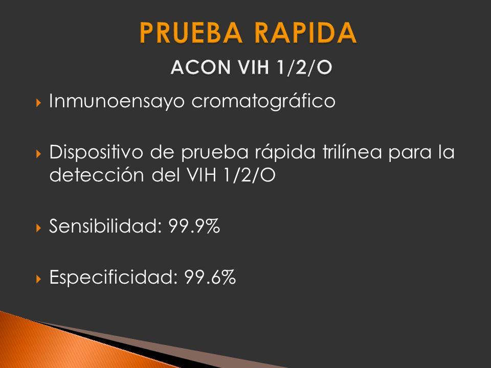 PRUEBA RAPIDA ACON VIH 1/2/O