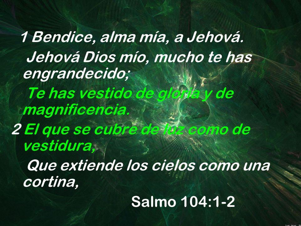 1 Bendice, alma mía, a Jehová.
