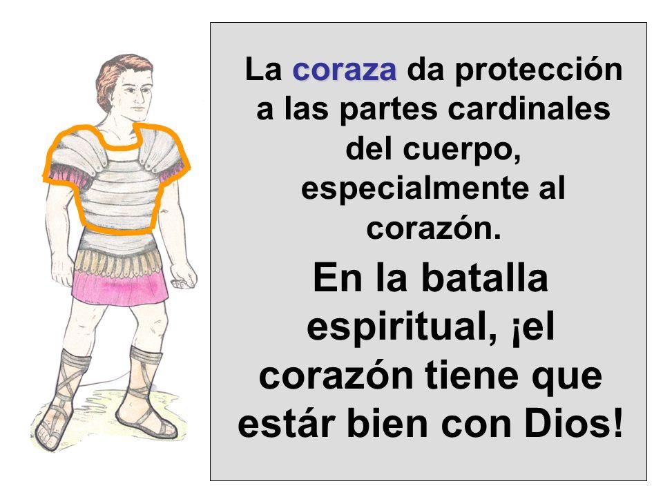 En la batalla espiritual, ¡el corazón tiene que estár bien con Dios!