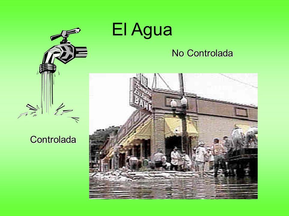 El Agua No Controlada Controlada