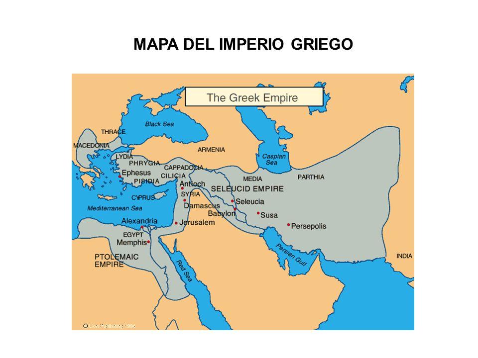MAPA DEL IMPERIO GRIEGO