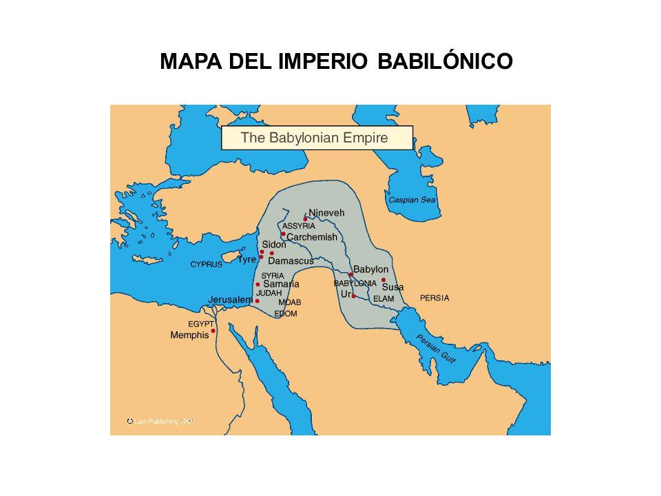 MAPA DEL IMPERIO BABILÓNICO