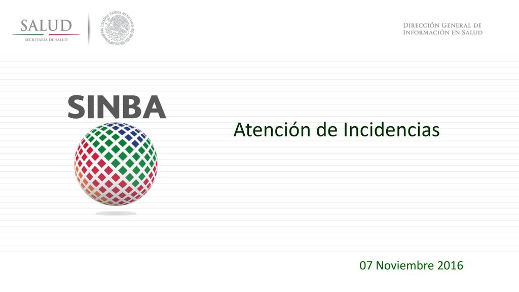 Atención de Incidencias