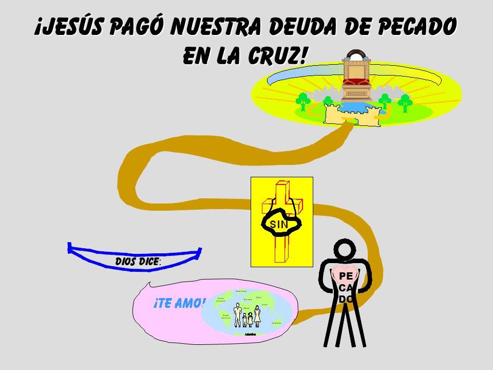 ¡JESÚS Pagó nuestra deuda de pecado en la cruz!