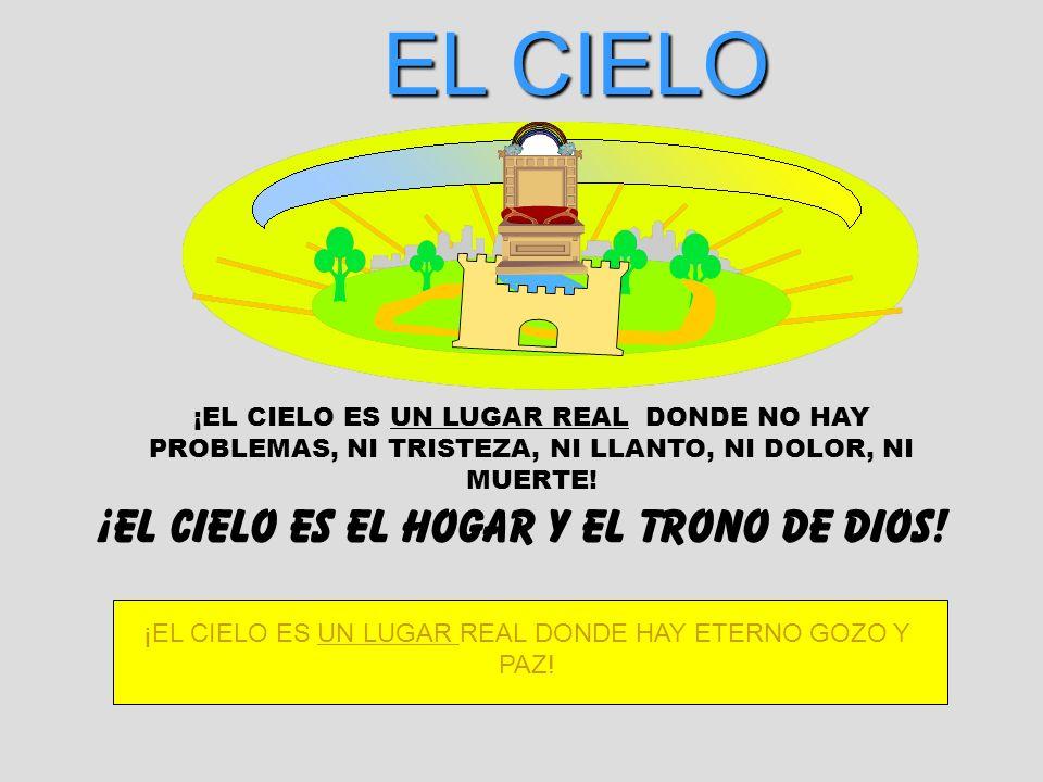 EL CIELO ¡EL CIELO ES EL HOGAR Y EL TRONO DE DIOS!