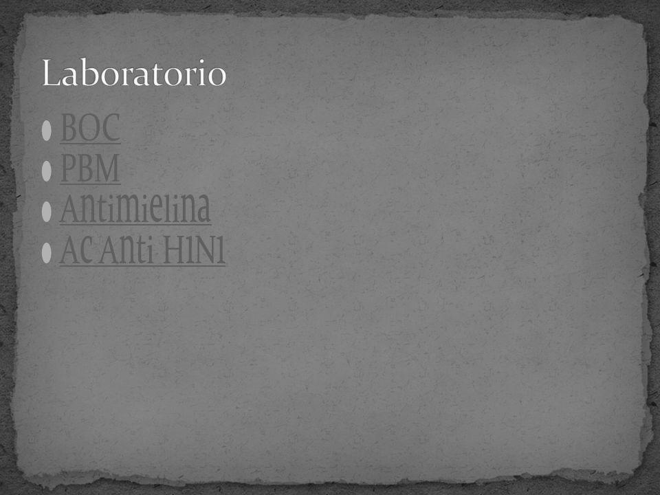 Laboratorio BOC PBM Antimielina Ac Anti H1N1