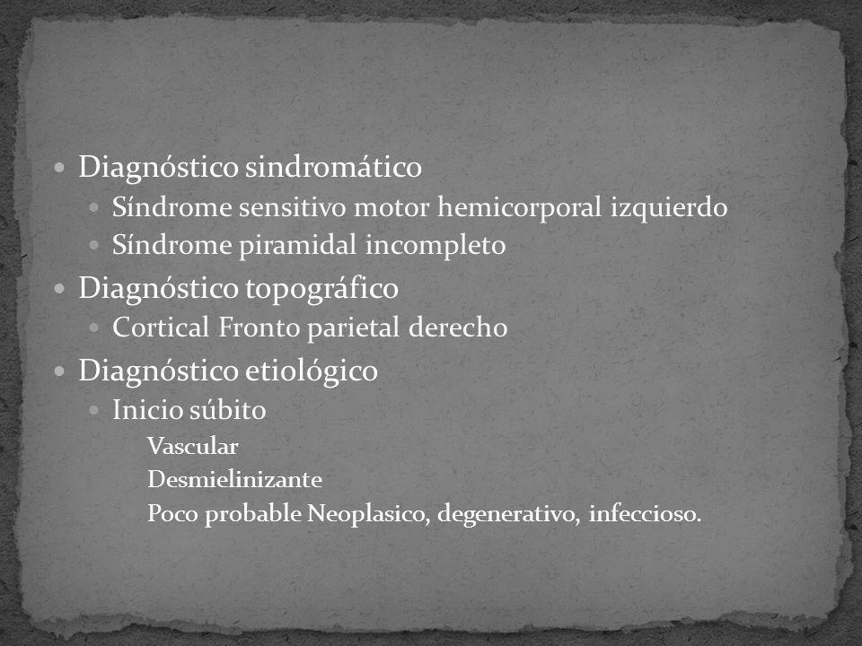Diagnóstico sindromático