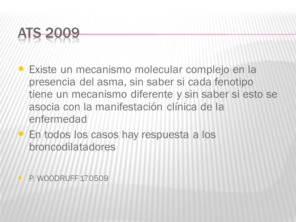ATS 2009