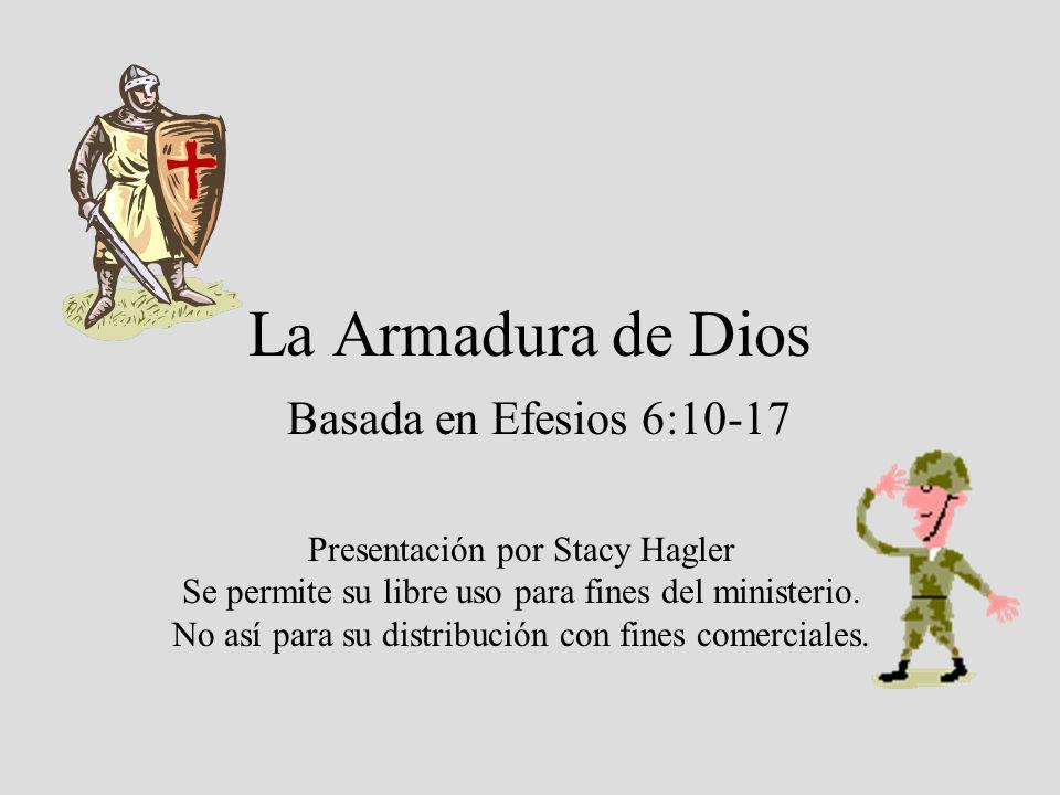 La Armadura de Dios Basada en Efesios 6:10-17