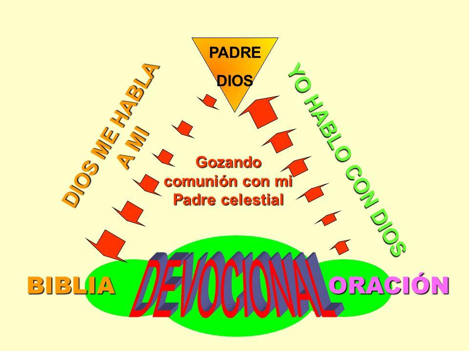 Gozando comunión con mi Padre celestial