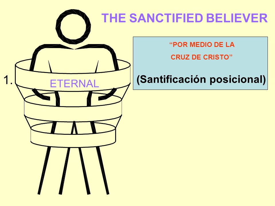 THE SANCTIFIED BELIEVER (Santificación posicional)