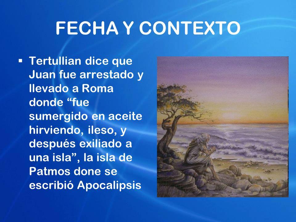 FECHA Y CONTEXTO