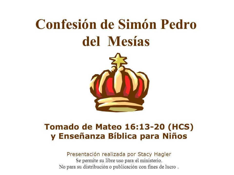 Confesión de Simón Pedro del Mesías