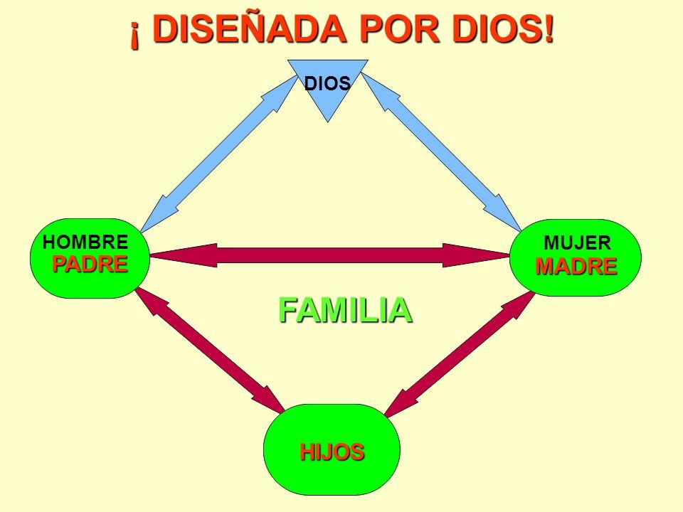¡ DISEÑADA POR DIOS! DIOS HOMBRE MUJER PADRE MADRE FAMILIA HIJOS