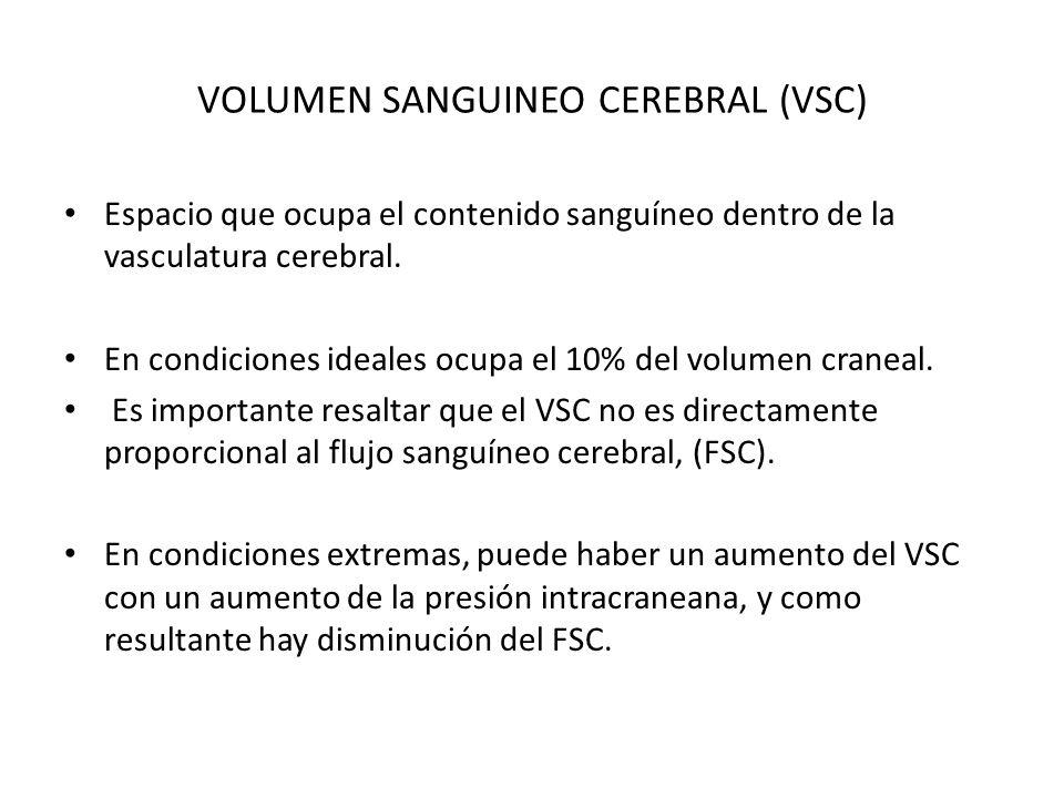 VOLUMEN SANGUINEO CEREBRAL (VSC)