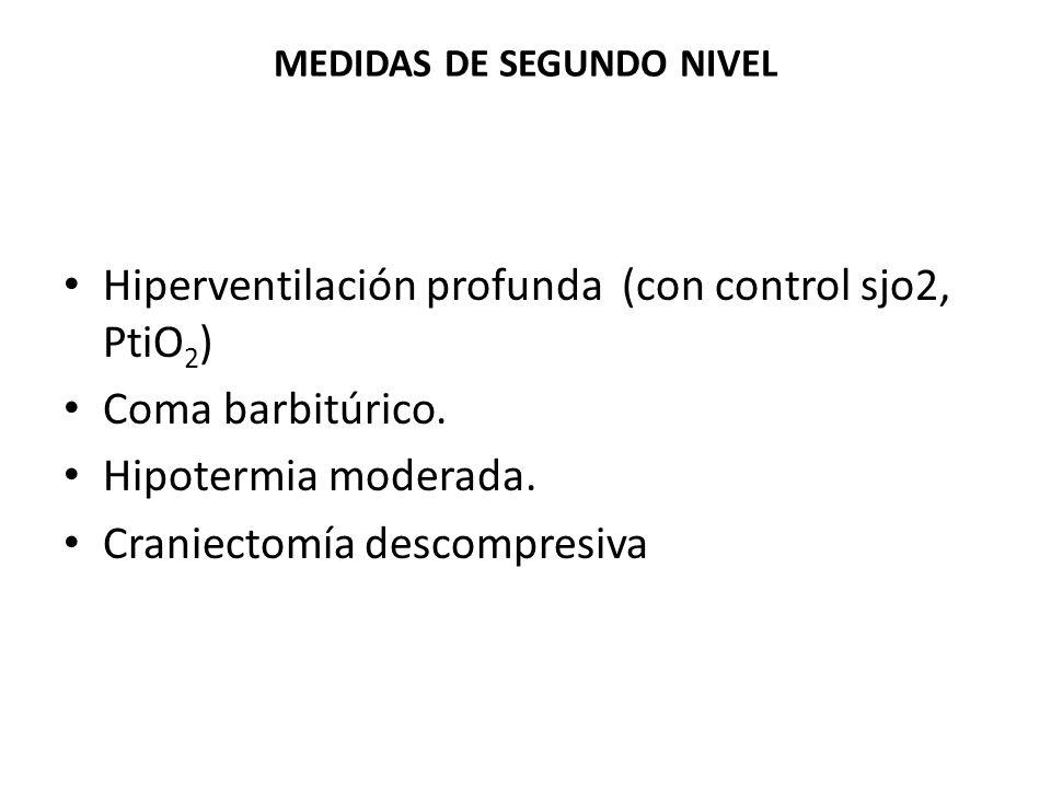 MEDIDAS DE SEGUNDO NIVEL