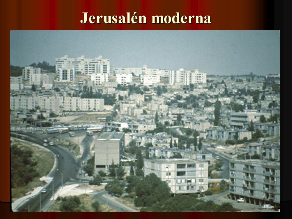 Jerusalén moderna