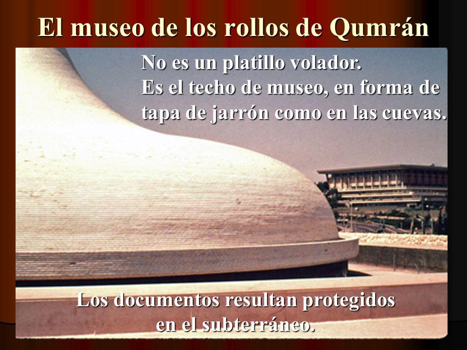 El museo de los rollos de Qumrán