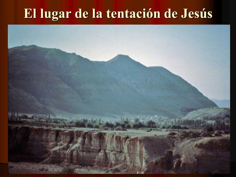 El lugar de la tentación de Jesús
