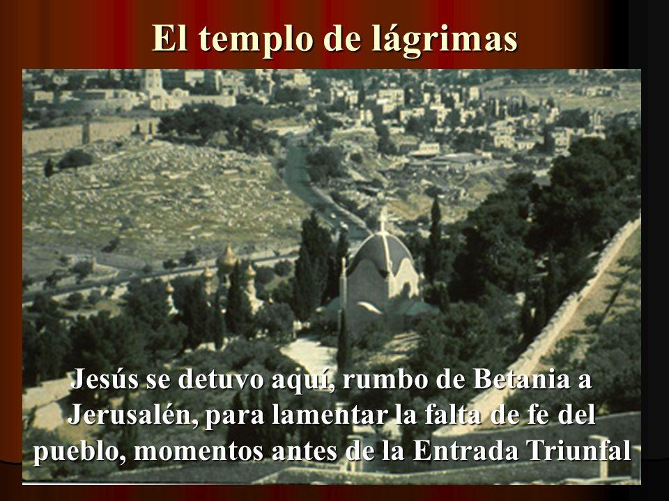 El templo de lágrimas