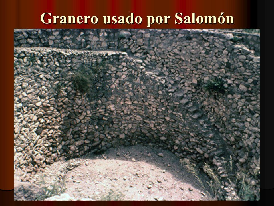 Granero usado por Salomón