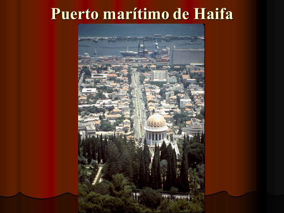 Puerto marítimo de Haifa