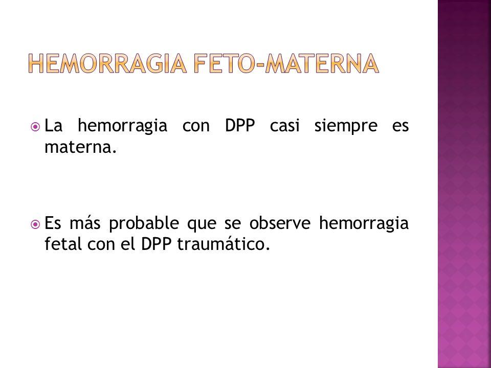Hemorragia feto-materna
