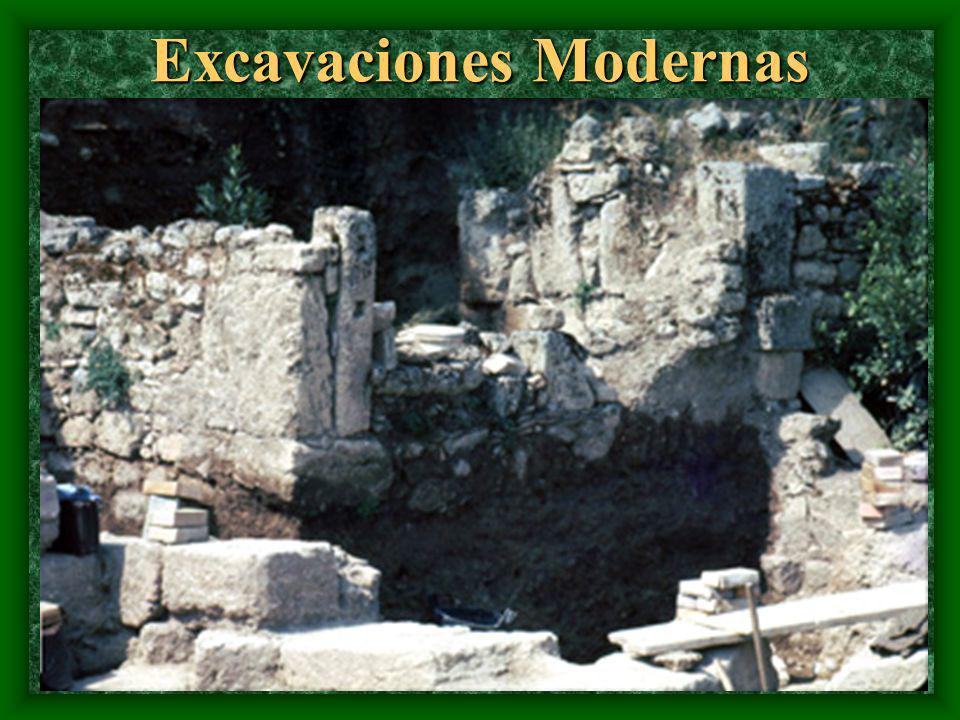 Excavaciones Modernas