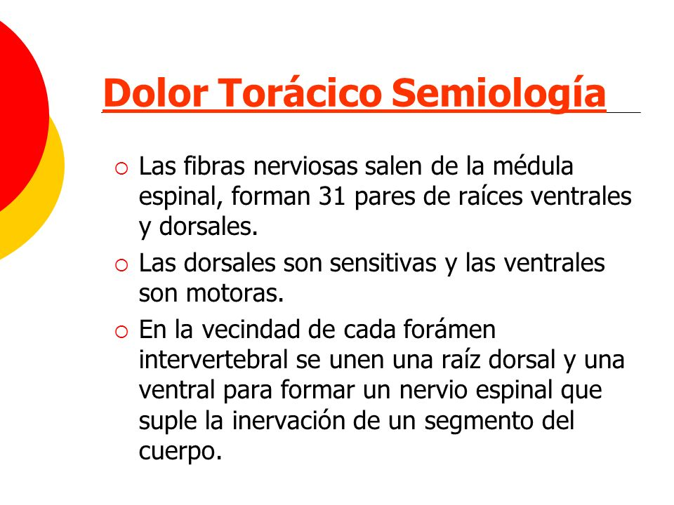 Dolor Torácico Semiología