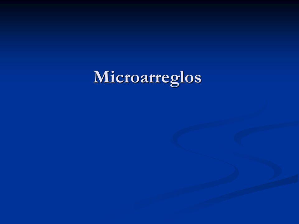 Microarreglos