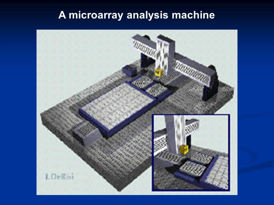A microarray analysis machine