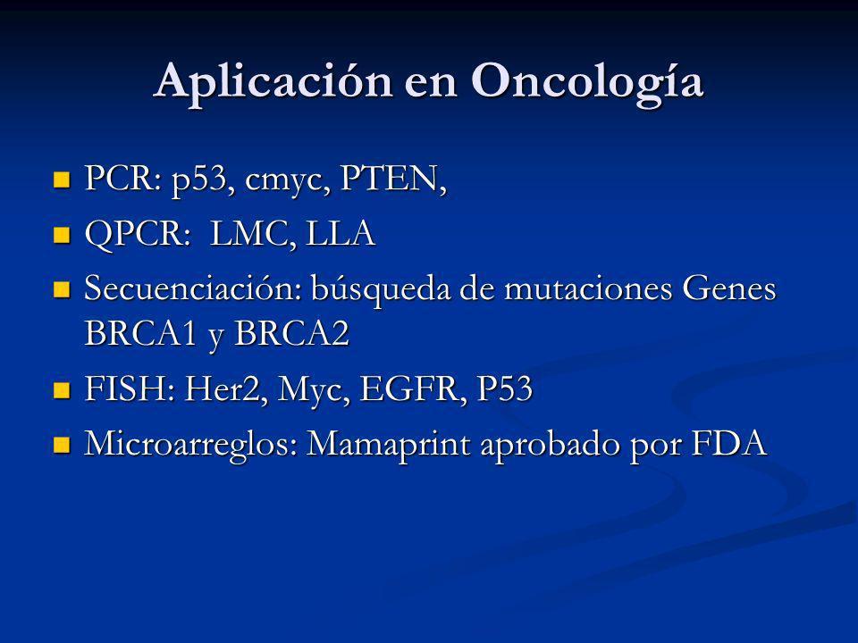 Aplicación en Oncología