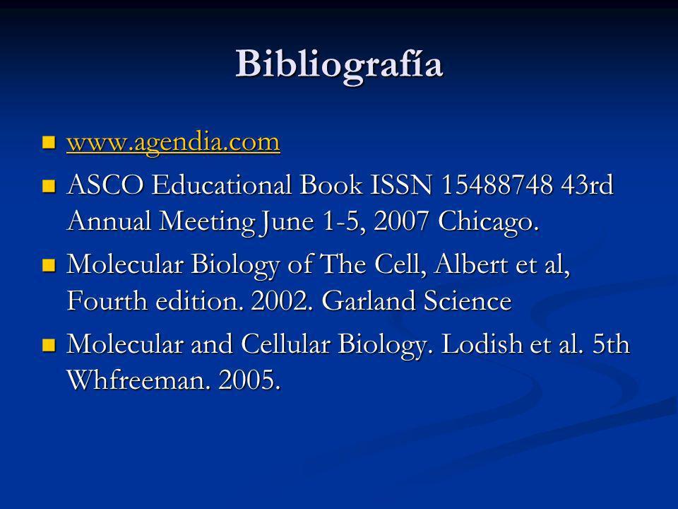 Bibliografía www.agendia.com
