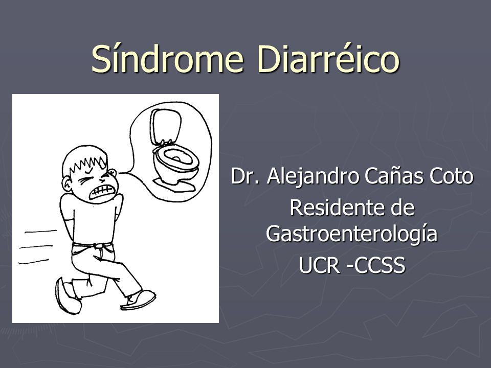 Dr. Alejandro Cañas Coto Residente de Gastroenterología UCR -CCSS