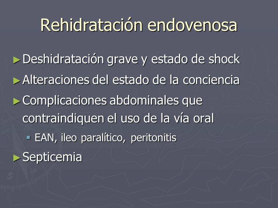 Rehidratación endovenosa
