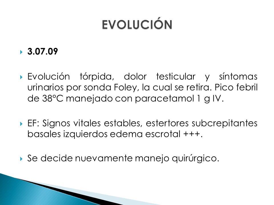 EVOLUCIÓN 3.07.09.
