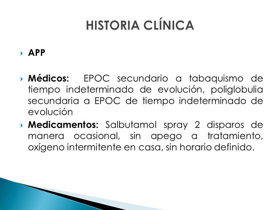 HISTORIA CLÍNICA APP.
